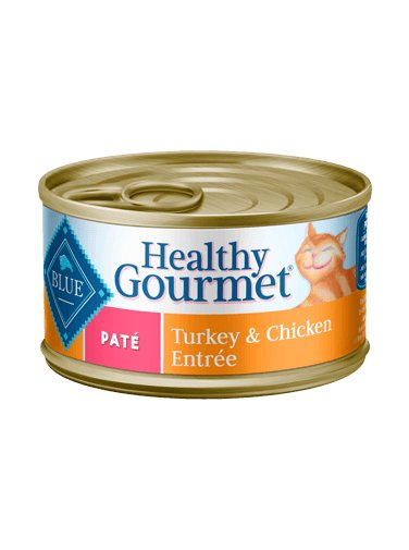 Blue - LPF BLUE Healthy Gourmet® Turkey & Chicken Entrée For Adult Cats