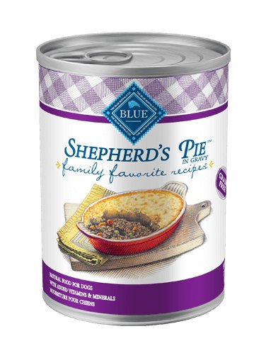 Blue - LPF BLUE Family Favorite Recipes® Shepherd's Pie For Adult Dogs