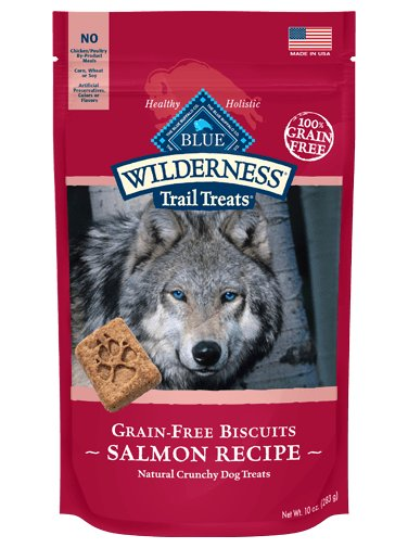 Blue - LPF Blue Wilderness Biscuits Salmon