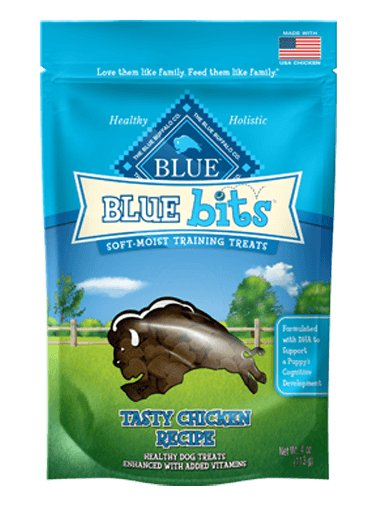 Blue - LPF BLUE Bits® Tasty Chicken Soft-Moist Training Treats for Dogs