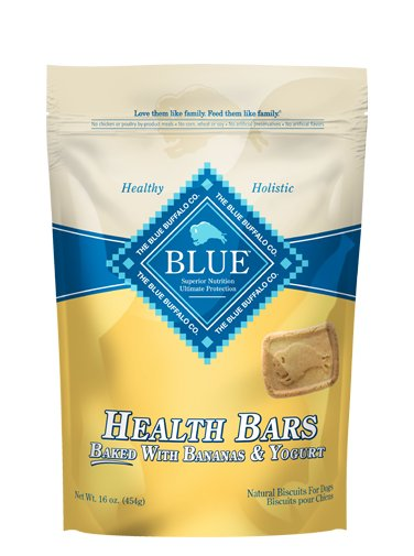 Blue - LPF BLUE™ Health Bars Baked with Banana and Yogurt Natural Biscuits for Dogs