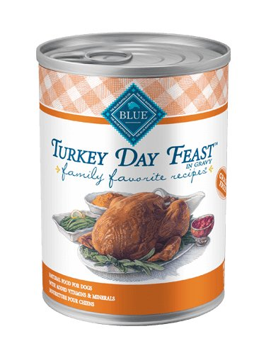 Blue - LPF BLUE Family Favorite Recipes® Turkey Day Feast For Adult Dogs