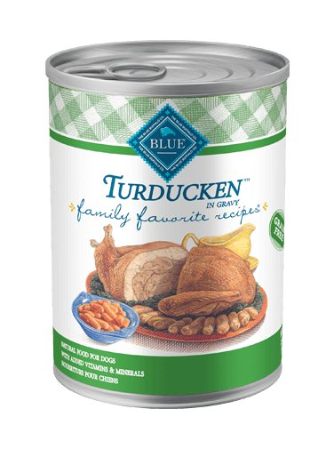 Blue - LPF BLUE Family Favorite Recipes® Turducken For Adult Dogs