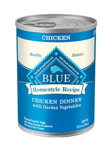 Blue - LPF BLUE Homestyle Recipe® Chicken Dinner with Garden Vegetables For Adult Dogs