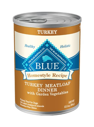 Blue - LPF BLUE Homestyle Recipe® Turkey Meatloaf Dinner with Garden Vegetables For Adult Dogs