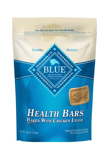 Blue - LPF BLUE™ Health Bars Baked with Chicken Liver Natural Biscuits for Dogs