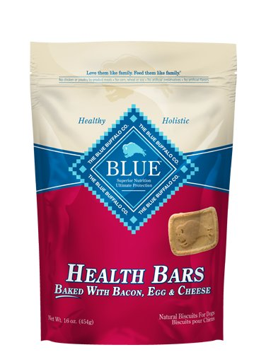 Blue - LPF BLUE™ Health Bars Baked with Bacon, Egg & Cheese for Dogs