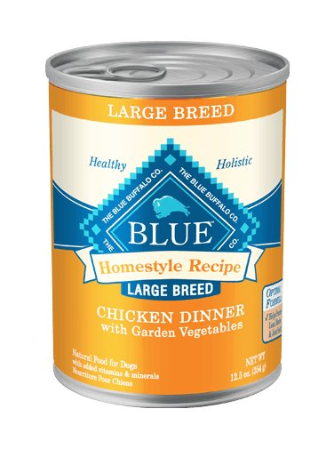 Blue - LPF BLUE Homestyle Recipe® Chicken Dinner with Garden Vegetables For Large Breed Adult Dogs