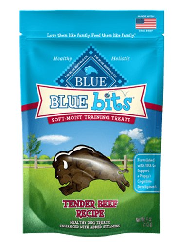 Blue - LPF BLUE Bits® Tender Beef Soft-Moist Training Treats for Dogs