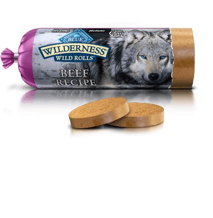 Blue - Wilderness BLUE Wilderness® Wild Rolls™ Beef Recipe For Dogs