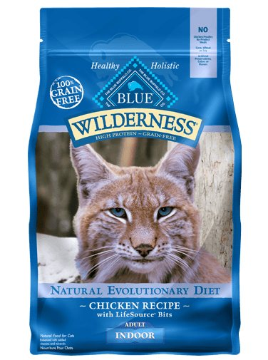 Blue - Wilderness BLUE Wilderness® Indoor Chicken Recipe For Adult Cats