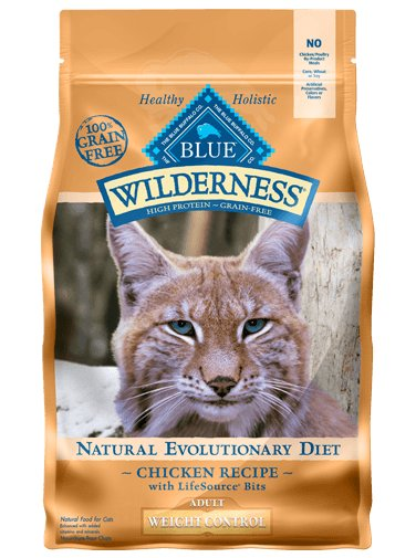 Blue - Wilderness BLUE Wilderness® Weight Control Chicken Recipe For Adult Cats