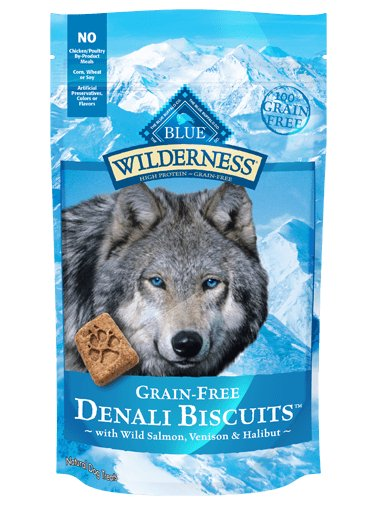 Blue - Wilderness BLUE Wilderness® Denali Biscuits™ with Wild Salmon, Venison & Halibut for Dogs