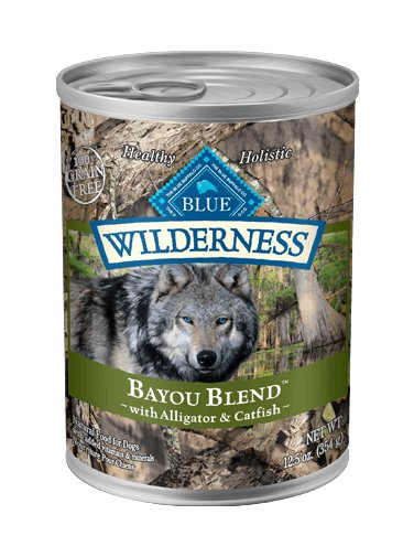 Blue - Wilderness BLUE Wilderness® Bayou Blend™ with Alligator & Catfish Grain-Free Wet Dog Food