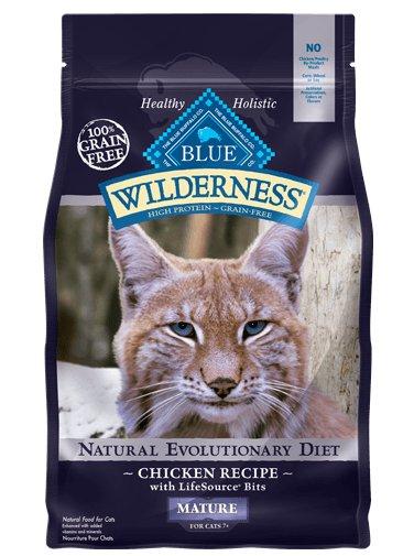 Blue - Wilderness BLUE Wilderness® Chicken Recipe For Mature Cats