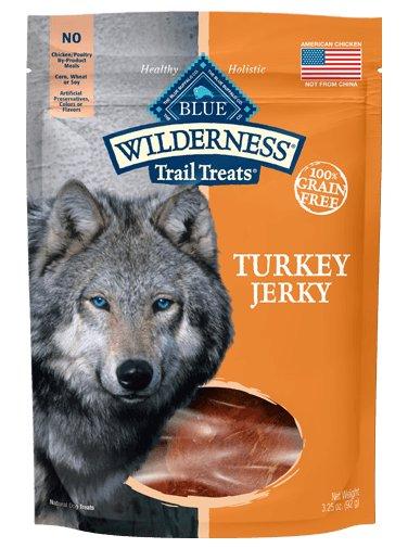 Blue - Wilderness BLUE Wilderness Trail Treats® Turkey Jerky All Natural Grain-Free Dog Treats