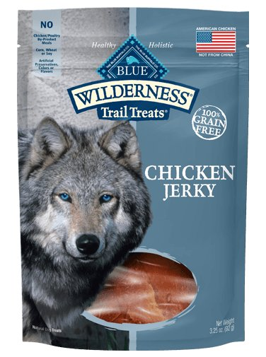 Blue - Wilderness BLUE Wilderness Trail Treats ® Chicken Jerky All Natural Grain-Free Dog Treats