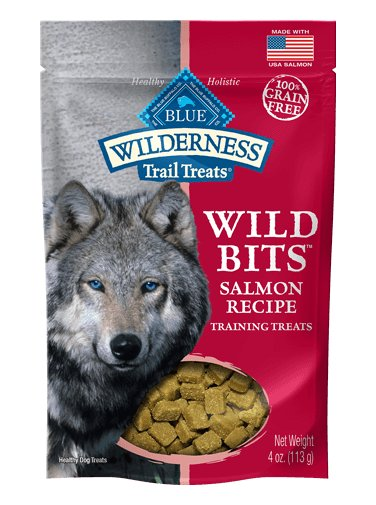 Blue - Wilderness BLUE Wilderness Trail Treats® Salmon Wild Bits™ Grain-Free Dog Training Treats