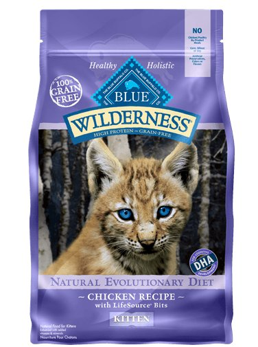 Blue - Wilderness BLUE Wilderness® Chicken Recipe For Kittens