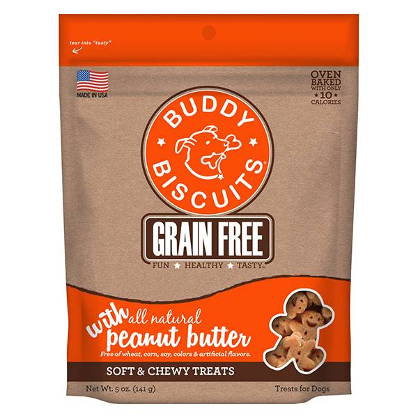Grain Free Soft & Chewy Treats: Peanut Butter