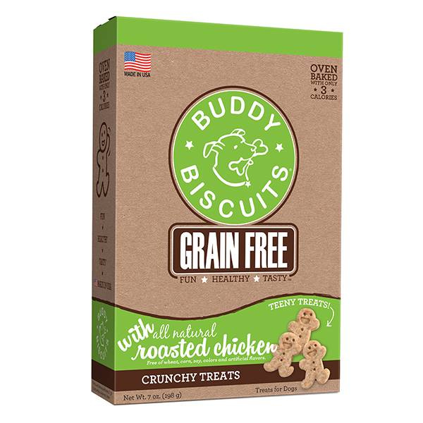 Grain Free Oven Baked Teeny Treats: Roasted Chicken for Dogs
