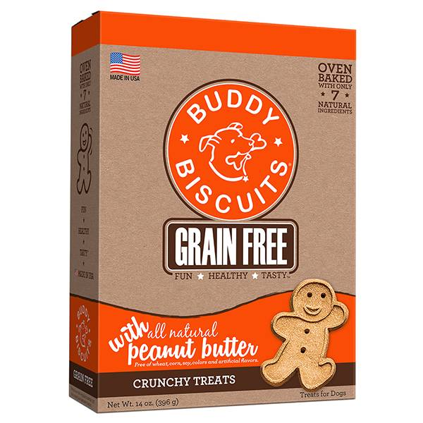 Grain Free Oven Baked Treats: Peanut Butter for Dogs