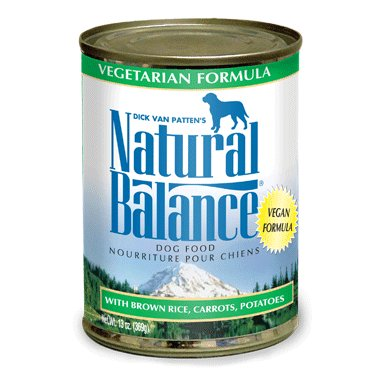 Natural Balance Natural Balance Dog Can 13 oz. Vegetarian Formula