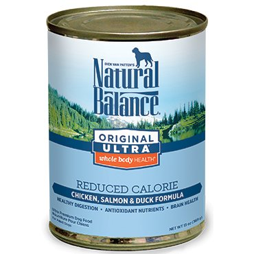 Natural Balance Natural Balance Dog Can 13 oz. Reduced Calorie