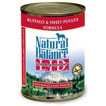 Natural Balance Natural Balance Dog Can 13 oz. LID Buffalo