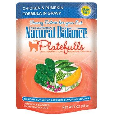 Natural Balance Natural Balance Platefulls Indoor Duck Chicken & Pumpkin Cat Food