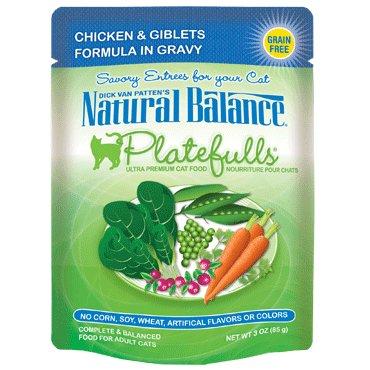 Natural Balance Natural Balance Platefulls Chicken & Giblets Cat Food