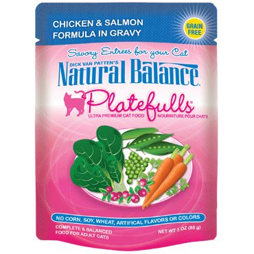 Natural Balance Natural Balance Platefulls Chicken & Salmon Cat Food