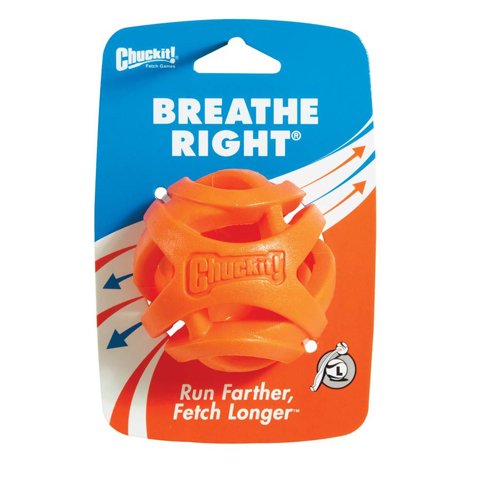 Chuckit! Chuckit! Breathe Right Fetch Ball Dog Toy