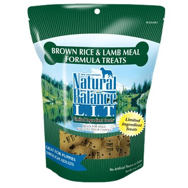 Natural Balance Natural Balance L.I.T. Treats Lamb & Rice