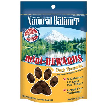 Natural Balance Natural Balance Mini Rewards Duck 4oz.