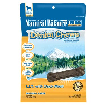 Natural Balance Natural Balance Dental Chew L.I.T. Duck Regular