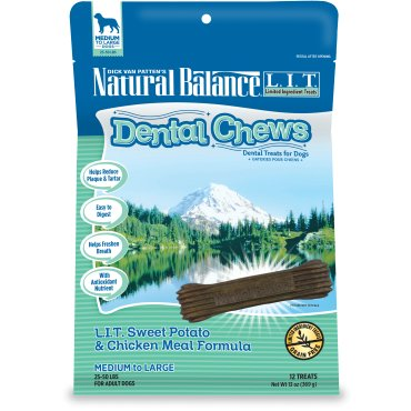 Natural Balance Natural Balance Dental Chew L.I.T. Chicken Small Breed