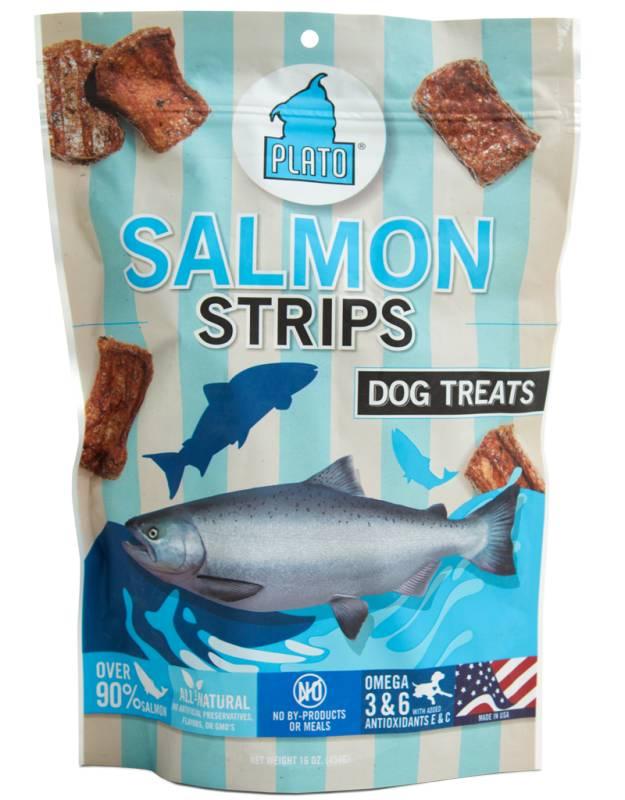 Plato Plato Salmon Strips