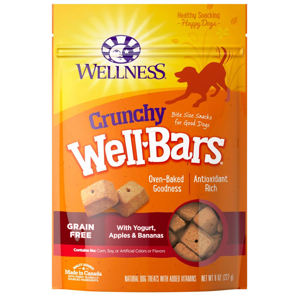 Wellness - Complete Health Wellness Wellbars Crunchy Snacks Apple/Banana 8 oz.
