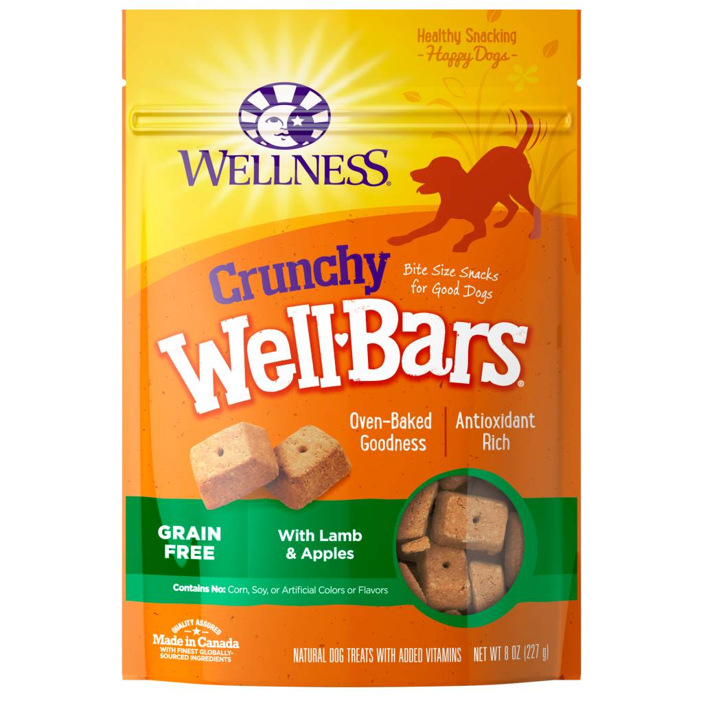 Wellness - Complete Health Wellness Wellbars Crunchy Snacks Lamb/Apple 8 oz.