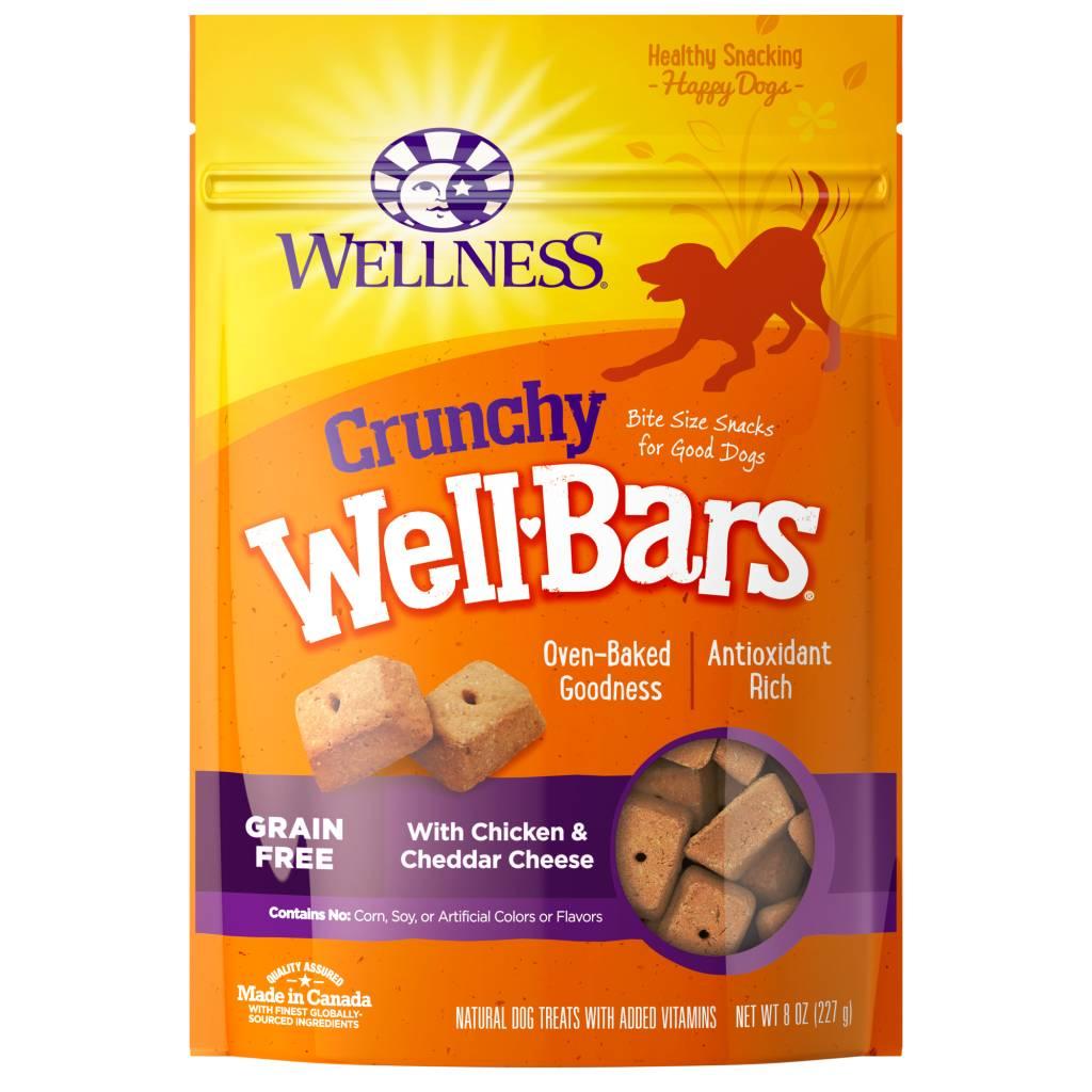 Wellness - Complete Health Wellness Wellbars Crunchy Snacks Chicken/Cheddar 8 oz.