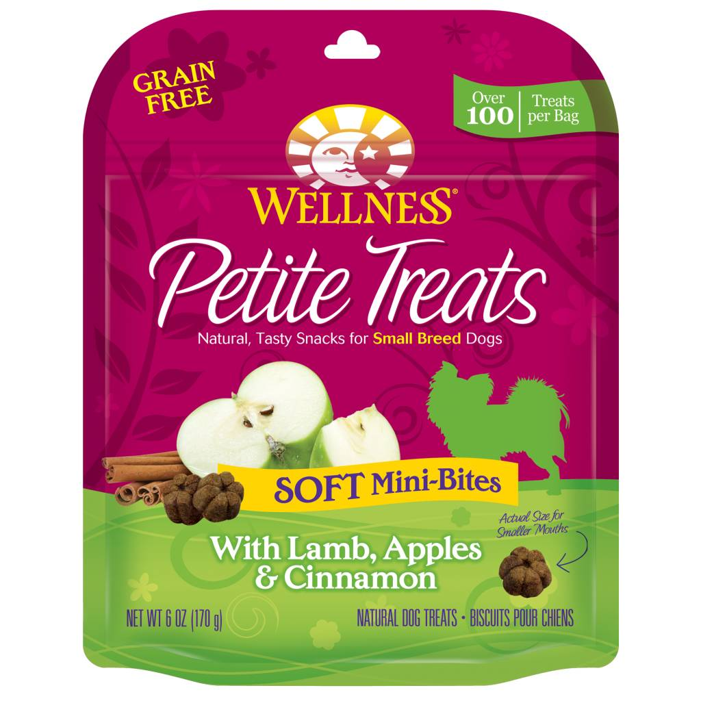 Wellness - Complete Health Wellness Petite Treats Soft Mini-Bites Lamb/Apples