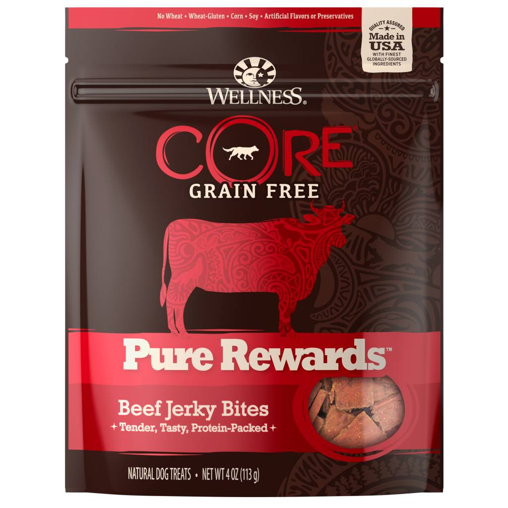 Wellness - Core Wellness Core Pure Rewards Beef/ Venison 4oz.