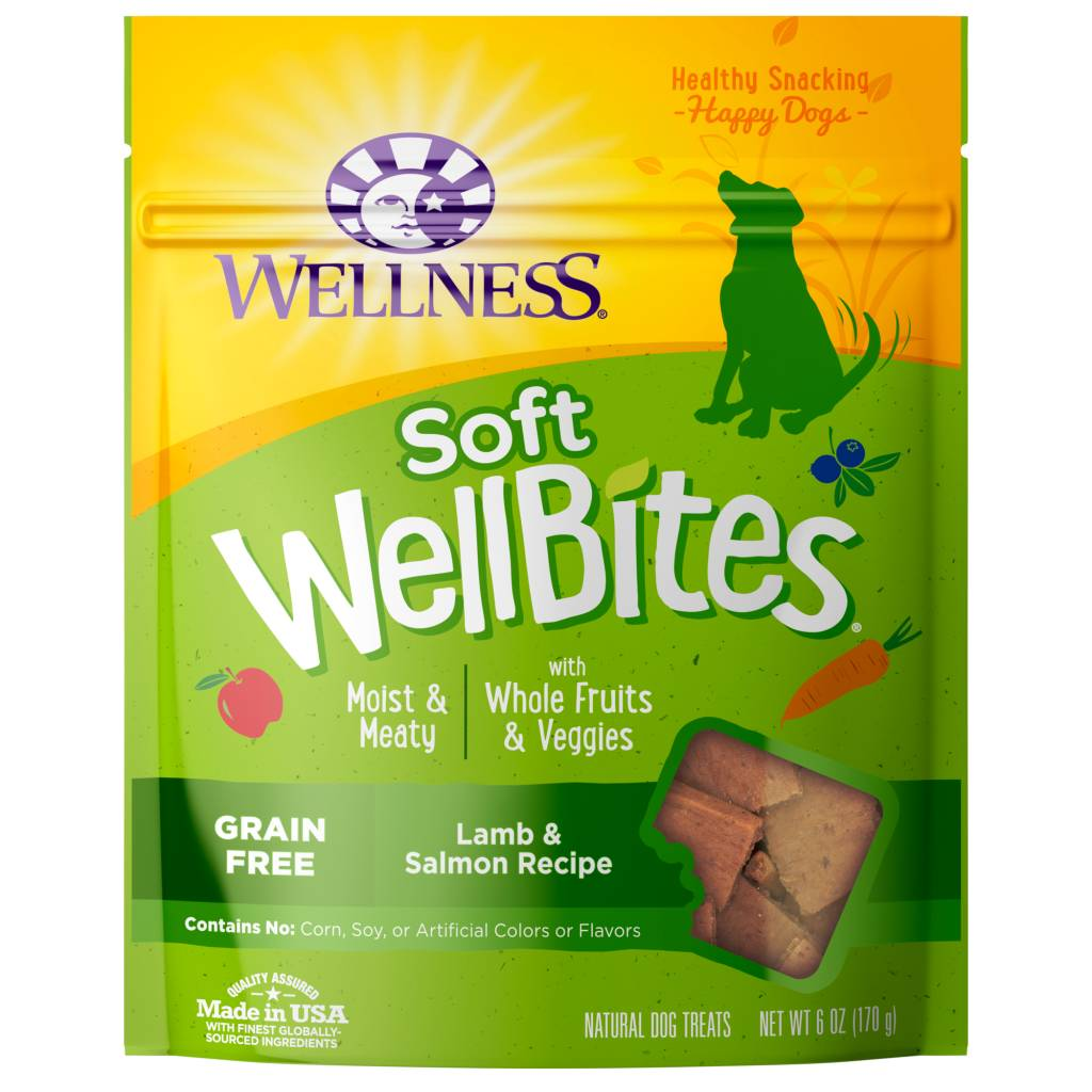 Wellness - Complete Health Wellness Wellbites Soft Snacks Lamb/Salmon 6oz.