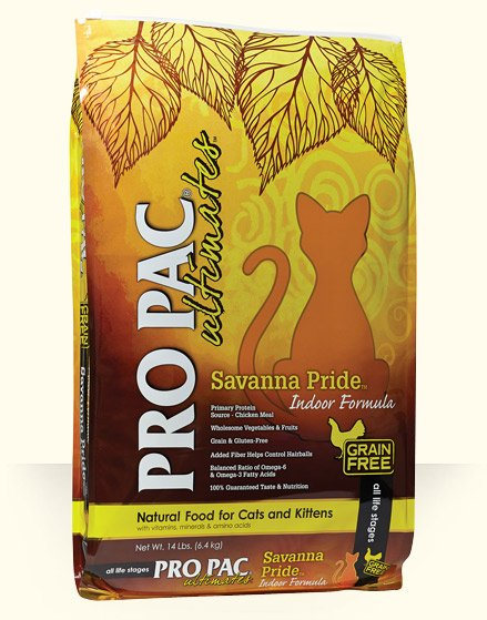 Pro Pac Pro Pac Savanna Pride Grain Free Cat Food Chicken