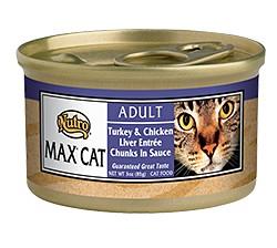 Nutro Max Max Cat Can Turkey/Chicken/Liver 3 oz