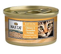 Nutro Max Max Cat Can Kitten Chicken/Oceanfish 3 oz