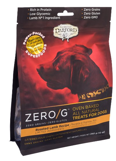 Darford Darford Zero-G Dog Treats Roasted Lamb 12 oz