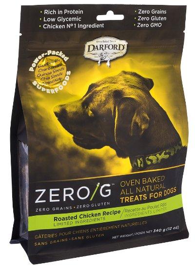Darford Darford Zero-G Dog Treats Roasted Chicken 12 oz