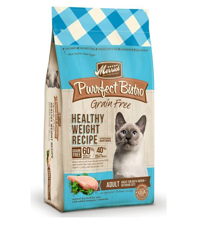 Merrick Merrick Purrfect Bistro Cat Food Weight Control 4#